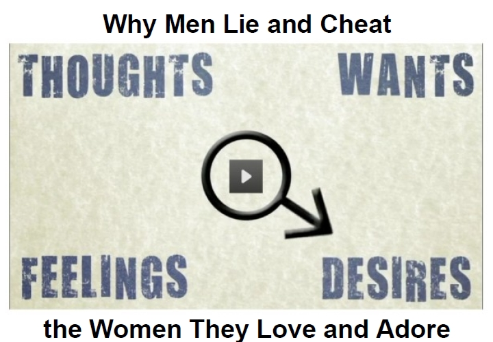 why men lie and cheat